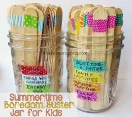 "Make Your Own ""I'm Bored Jar"" Full of Fun Activities for Kids! Summer Activities for Kids, Fun Stuff For Kids, Kid Stuff, Kid Crafts, Crafts for Kids, Summer Crafts for Kids, Kid Crafts, Easy Kid Stuff, Popular Pin"