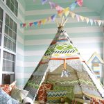 Easy DIY Teepees for Kids| Teepees for Kids, DIY Teepees for Kids, Kid Teepees, Kid Stuff, Crafts for Kids, Simple Crafts for Kids, Popular Pin