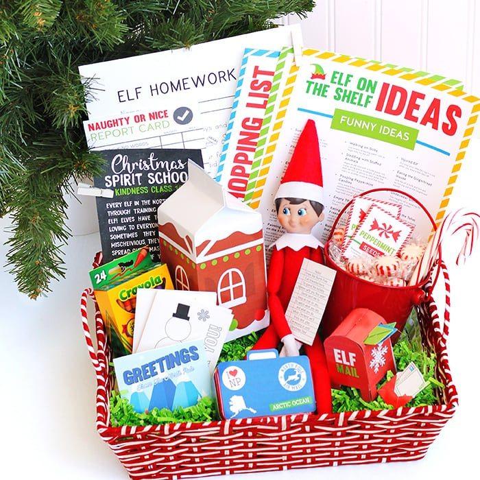 Make your own sundae gift basket gift ftempo for Make your own christmas gift baskets
