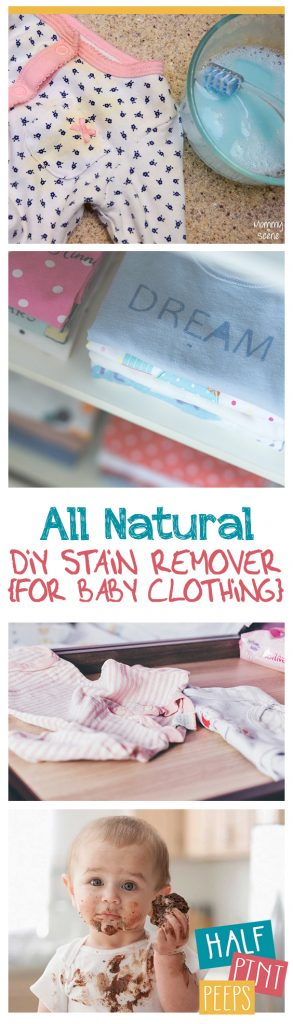 All Natural Diy Stain Remover For Baby Clothing