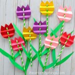 10 Lively Spring Flower Crafts for Kids of All Ages| Crafts for Kids, Easy Crafts for Kids, Spring Crafts for Kids, Spring Crafts, Crafts for Kids, Kid Stuff, Kids Crafts
