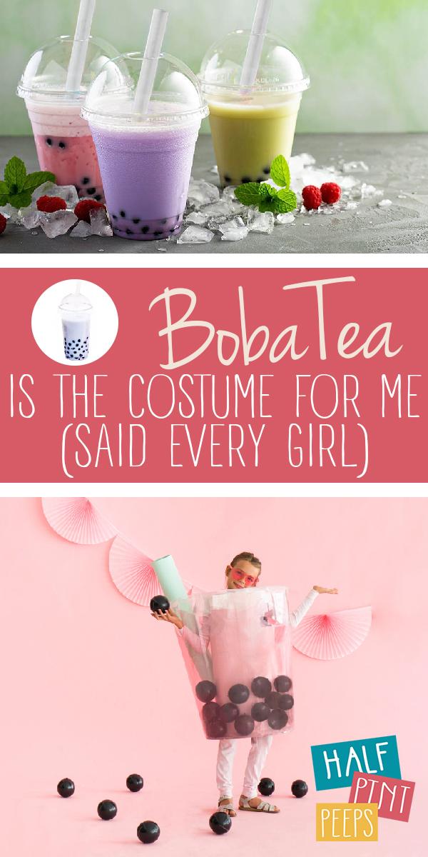Boba Tea Costume | Boba Tea Costume Ideas | Boba Tea Costumes | Boba Tea | DIY Boba Tea Costume | DIY Boba Tea Costume Ideas