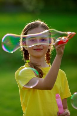 Blowing Bubbles Teaching Your Child Mindfulness