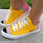 DIY Pencil Tennis Shoes