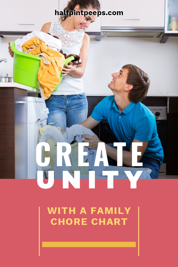 Here are some great ways to help you create family unity by using a family chore chart