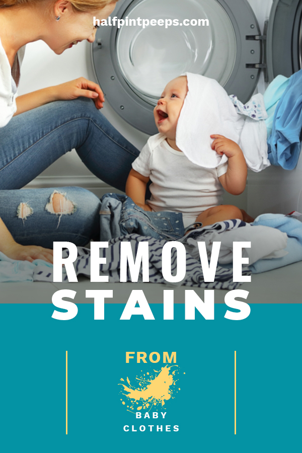 A baby's skin is so delicate. Using harsh chemicals to remove stains from their clothes can really irritate their skin. Nobody wants that! That's why we have some tips to safely remove stains from baby clothes. Rest assured that your baby's skin will not be harmed and at the same time the stains will be removed. Learn more by reading on. #laundrytipsforbabyclothes #howtocleanbabyclothes