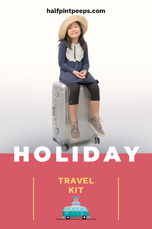 The holidays often mean lots of travel. While going to see loved ones, or taking a nice vacation sounds fun, the travel can be boring for kids. That's why we are sharing some fun ideas for holiday travel kits for the kids. Whether you are traveling by car or train, these kits are sure to entertain. Make the holidays fun by reducing the stress when you travel. Keep reading to learn more. #holidaytraveltips #travelkitsforkids