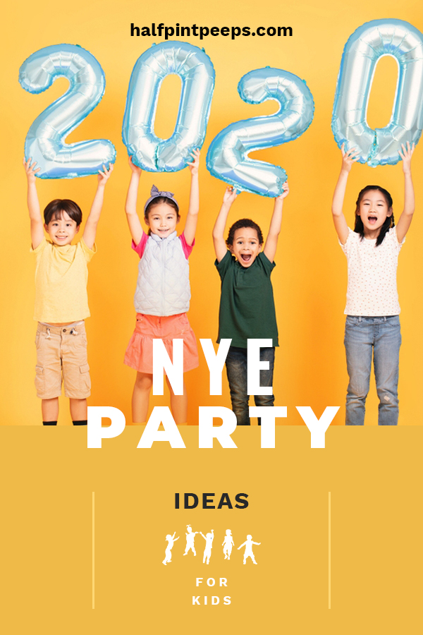 NYE is such a fun night for everyone, but often the kids get left out. There is no need for them to feel like they can't enjoy the night, too. That's why we are talking about NYE party ideas for kids. Ideas for decorations, food, drinks and games. Make the kids feel like this is a night for them. A fun way to say goodbye to the old and ring in the new. #NYEpartyideasforkids #partyplanning