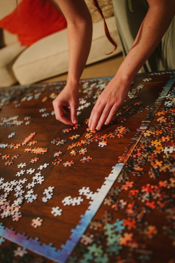 If you're looking for things to do with your kids during Christmas break, you're in the right spot! You don't have to go outside to have fun. Pick your favorite puzzle and put it together as a family.