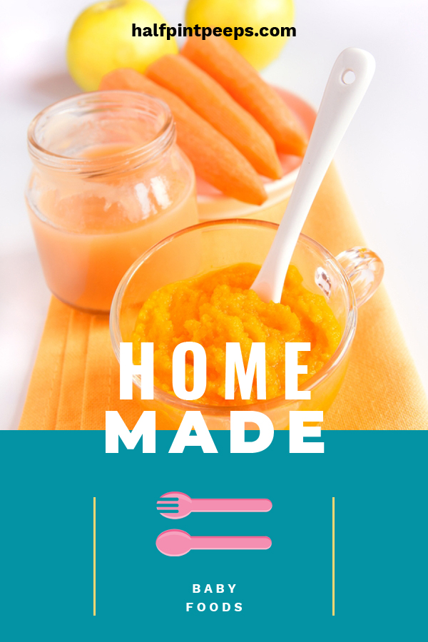 Parents love to know that they are giving their baby the best of everything, food included. Homemade baby food is a great way to make sure your baby is getting all natural, healthy food. It's not complicated to make your own homemade baby food with these ideas. Take care of your babies nutritional needs with these recipes. #homemadebabyfood #babyfoodideas #nutritionalbabyfood