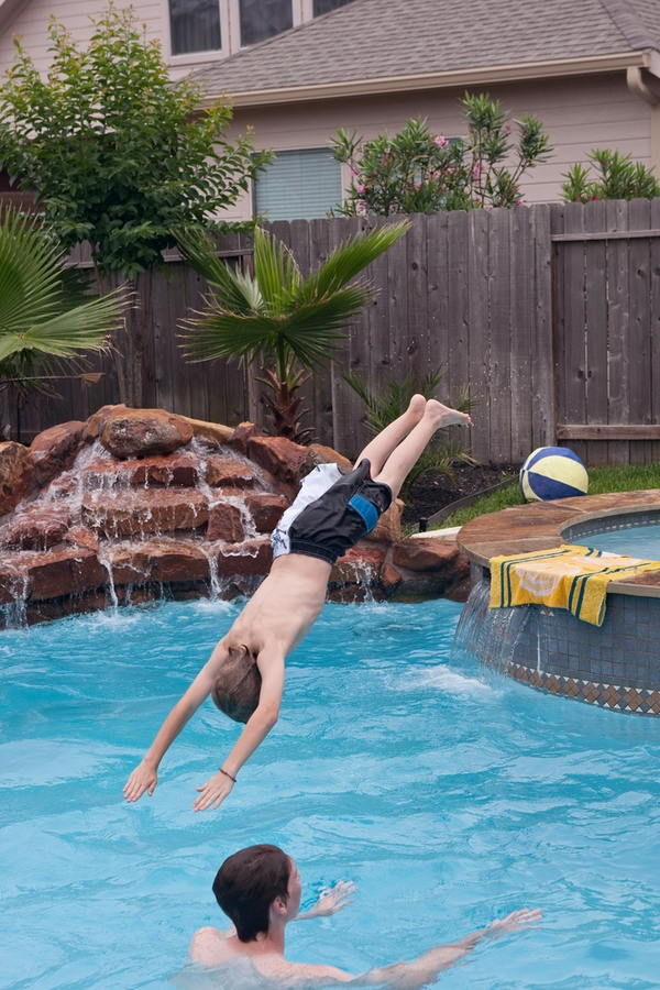Are you looking at outdoor play areas for your kiddos? Well, we have some awesome outdoor play areas for you to consider. Having a pool will be a hit!